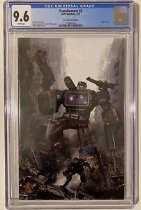 Transformers 2 Fellowship Variant CGC 9.6 W/Coa