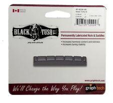 Graphtech TUSQ XL tuerca ranurada Negro Para Acústica de 6 cuerdas o las guitarras eléctricas