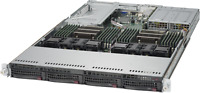 1U Supermicro Server X10DRU-i+ 2x Xeon E5-2620 V3 = 12 Cores 32GB 4x 10GBE-T