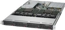 1U Supermicro Server X10DRU-i+ 2x Xeon E5-2630 V3 16 Cores 64GB 4x 10GBE-T 2PS