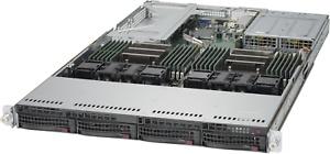 1U Supermicro Server X10DRU-i+ 2x Xeon E5-2690 V3 12 Cores 256GB RAM 4x 10GB 2PS