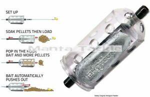 NEW 3 x Middy Original Shotgun 28g Pellet Feeder Inline Carp Bream Feeders
