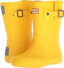 Hunter Original Kids Flat Sole Rain Boots Sunlight Yellow UK (US 13B/1G)