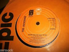 """THE JACKSONS- SHOW YOU THE WAY TO GO VINYL 7"""" 45RPM co"""