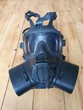 British Military Army GSR Scott 4/4 Gas Mask Respirator Small