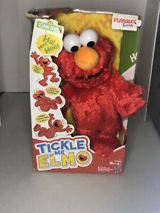 2016 Tickle Me Elmo Sesame Street Plush Hasbro Playskool Friends