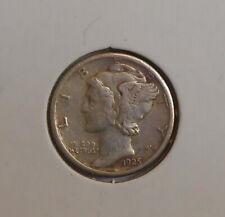 New listing 1925-s . Mercury Dime . Xf . Original . Extra Fine . Ef