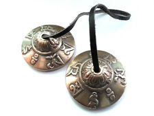 Gentle Pure And Resonant Tibetan Buddhist Meditation Of Luck Tingsha Bell Exquisite Finger Cymbals Embossed Sports & Entertainment