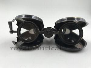 Nautical Vintage Antique Brass Binocular Marine Folding Monocular Valentine Gift