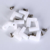10pcs fixed plastic pcb mounting feet 20mm L type feet with scr~S4yu