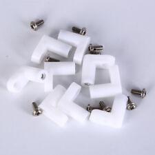 10pcs fixed plastic pcb mounting feet 20mm L type feet with screws KQ