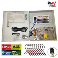 8 Channel Power Supply Distribution Box 12V DC 5Amp for DVR CCTV Security Camera