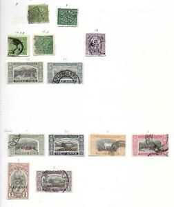 Indian States stamps Collection of 13 CLASSIC stamps HIGH VALUE!