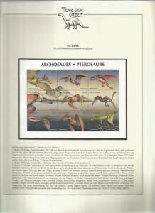 81541/ Dinosaurier Fauna Tiere ** MNH OHNE VORDRUCK GUYANA