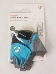 Bontrager Solstice Women's Cycling Glove Fingerless XS 6 Teal Gray