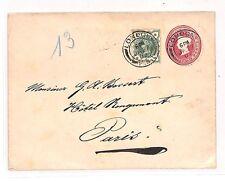 BB119 1902 gb londres france paris cover {samwells couvre -} pts
