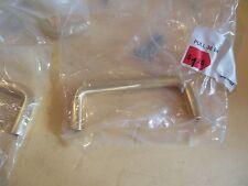 8 - Satin Brass Finish 36B4 Pull Cabinet Hardware Handle (Box)
