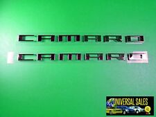 PAIR CHEVROLET GM OEM CAMARO EMBLEM BADGE NAMEPLATE 10 -2015 FENDER NEW 22752666
