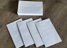 50x Small Mini White Envelopes For Cards Bomboniere Thank You Wedding RSVP