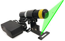 520nm 50mW Green Line Laser w/ Cylindrical Lens High Standard 3D Scan line Laser