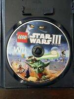 Wii Lego Star Wars 3 The Clone Wars Game disc only, UNTESTED