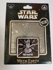 Star Wars Metal Earth model kit Pilot Droid Rex Disney Park Exclusive