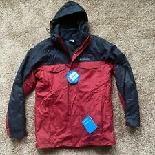 Columbia Timberline Triple Interchange 3-In-1 Waterproof Parka Jacket Men's Sz S