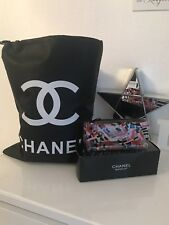 Chanel Kosmetik Tasche & Blanket Fleece Decke Set 130cm x 150 cm Neu