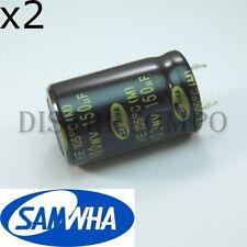 PANASONIC Kondensator EEUEE2E151  150uF 250V  18x31,5mm RM7,5  10000h 1 pc