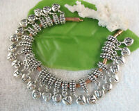 26pcs Tibetan silver alphabet dangle beads for charm bracelet W7469