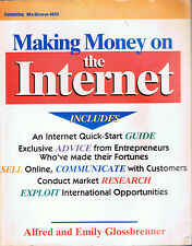 Making Money on the Internet by Alfred and Emily Glossbrenner (1995, PB)