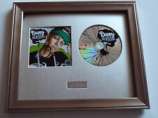 DAPPY - BAD INTENTIONS CD- PERSONALLY SIGNED/AUTOGRAPHED FRAMED PRESENTATION.