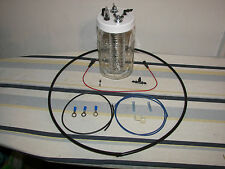 1 Hydrogen Generator Browns Gas HHO Cell Water4Gas ***Complete Kit Included***