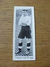 1937 Topical Times Minature Panel Portrait: Plymouth Argyle - Fletcher, Charles