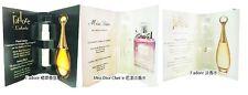 Miss Dior EDT Blooming J'adore EDP Eau de Parfum Toilette EDT 1ml x 3 Vials