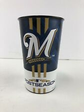 2018 Milwaukee Brewers Postseason Playoffs Souvenir Collector Cup Nlcs Nlds