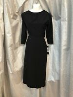 Stop Staring! Espena A-Line Dress ESPNA-02 Classy 50's Black Formal Vintage