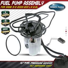 Fuel Pump Module Assembly W/ Pressure Sensor for Saab 9-3 03-11 L4 2.0L E8489MN