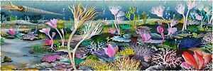 Nautilus Wooden Puzzles: Silurian Seascape (144 Piece Wooden Jigsaw Puzzle)