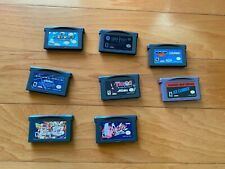 Lot of 8 Gameboy Advance Games Spiderman, Mario, Dragonball Z, Kirby, Potter