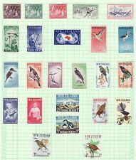 New Zealand Semi-postals, Scotts B49 - B72, 1956 to 1966