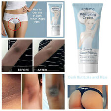 3Days Body Skin Whitening Cream for Sensitive Area Armpit Leg Knee Private Part!