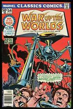 War of the Worlds Marvel Classics Comic 14 H G Wells Alien Invasion Mars Attacks
