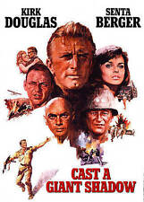 Kirk Douglas - 1966 - Cast A Giant Shadow - Senta Berger, Yul Brynner - New DVD