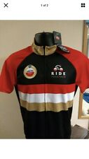 Amstel Prudential Ride London Cycle Jersey & Shorts Size M Italian Cycling Med