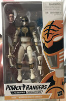 "Power Rangers Lightning Collection 6"" Mighty Morphin White Ranger New Tommy"