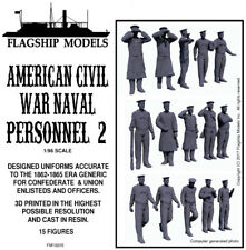 FLAGSHIP MODELS 1/96 Scale American Civil War Naval Figures 2