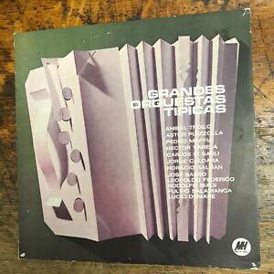 V/A ASTOR PIAZZOLLA Grandes Orquestas Tipicas Argentina LP VG+ VINYL Record USED