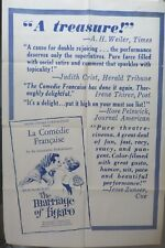 The marriage of Figaro movie poster,original,One sheet.