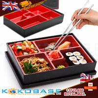 Brand New Japanese Bento Sushi Box with Chopsticks lunchbox meet EU Safety